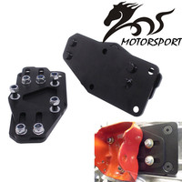 Sliders Adjustable Motor Mount Adapters Black Coat LS Engines