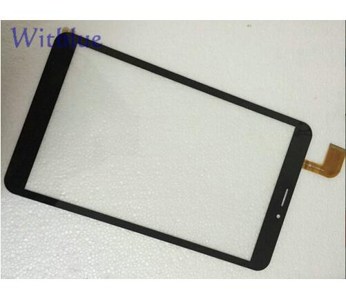 Witblue New Touch Screen For 8 inch Tablet dxp2-0316-080b Touch Panel digitizer glass Sensor Replacement Free Shipping for hsctp 852b 8 v0 tablet capacitive touch screen 8 inch pc touch panel digitizer glass mid sensor free shipping