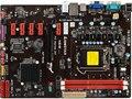 Подержанные оригинальная для Biostar H61B LGA 1155 DDR3 для 32-нм процессорных Плат USB2.0 VGA 16 ГБ H61 Desktop Материнских Плат