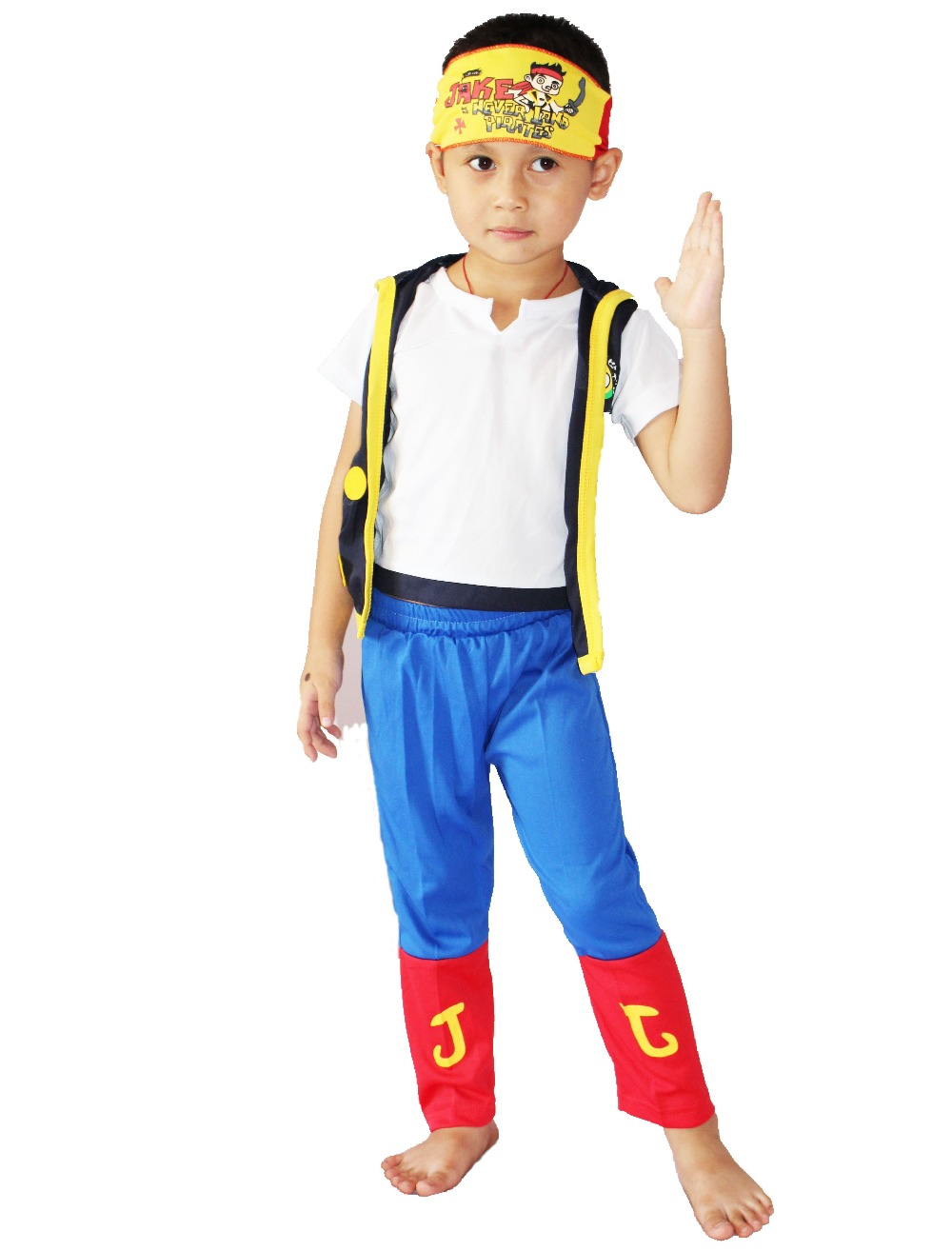 retail - Halloween Party costumes Hallowmas 3 - 7 Years kid One Piece Role-playing clothing Boy pirate costume Cosplay T- shirt