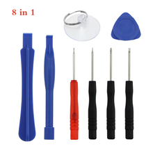 8pcs/lot Mobile Phone Repair Tools Kit Spudger Pry Opening Tool Screwdriver Set For iPhone 4 4S 7 7Plus Samsung  Hand Tools set newest mobile phone repair tools kit spudger pry opening tool screwdriver set for iphone samsung phone hand tools set