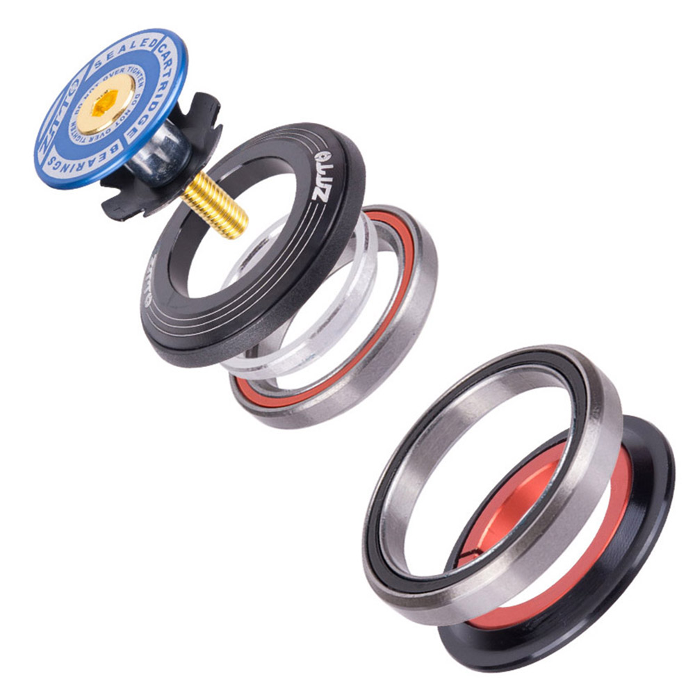 ZTTO 4252ST MTB Road Bike Bicycle Headset 42 41.8 52mm 1 1/8 1 1/2 Tapered Straight Fork Integrated Angular Contact Bearing бленд mennon 1 8d 52mm 50