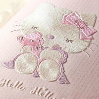 Children S Room Wallpaper For Walls 3 D Stereo Embossed Cartoon Cat Non Woven Wallpaper Cute