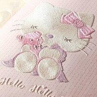 Children S Room Wallpaper For Walls 3 D Stereo Embossed Cartoon Cat Non Woven Wallpaper Cute