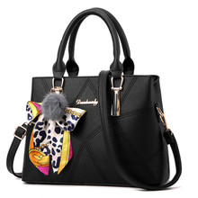 2017 new ladies shoulder bag scarf with fashion handbags handbag Messenger bag large capacity female bag 5 colors