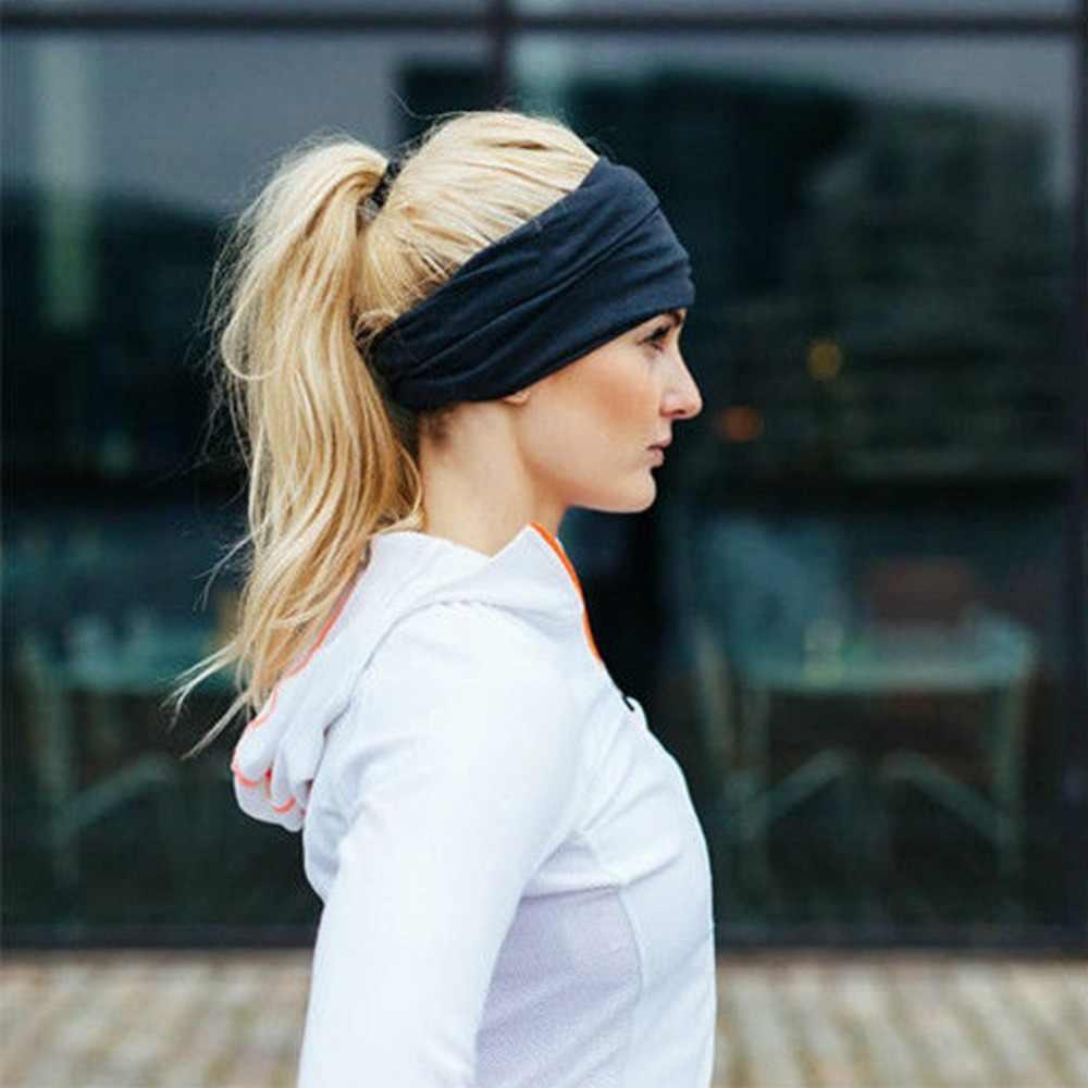هوه الصلبة مطاطا تمتد واسعة Hairband النساء سيدة فتاة الموضة عقال عصابات الرأس مطاطا رباط شعر إكسسوارات الشعر