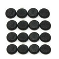 100 PCS TPU Thumbstick Joystick Grips Cap Cover for PS4 Controller Wireless Black