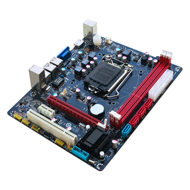 B75 Motherboard New 1155 Motherboard Supports 3470 <font><b>E3</b></font> <font><b>1230</b></font> <font><b>V2</b></font> Z77 Ddr3 Lga I5 3570 Underground City DNF Brick Carrying Computer image