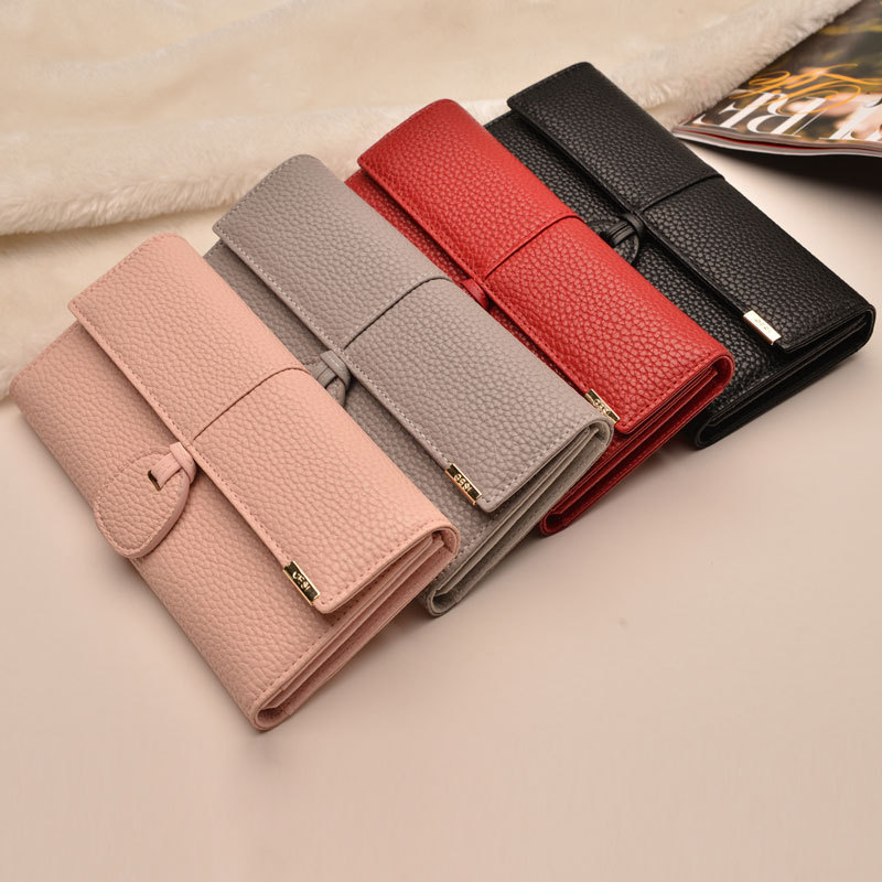 Fashion New Women Wallets Big Capacity Ladies Clutch Bag Pu Female Long Wallet ID Card Holders Coin Cash Wallet purses
