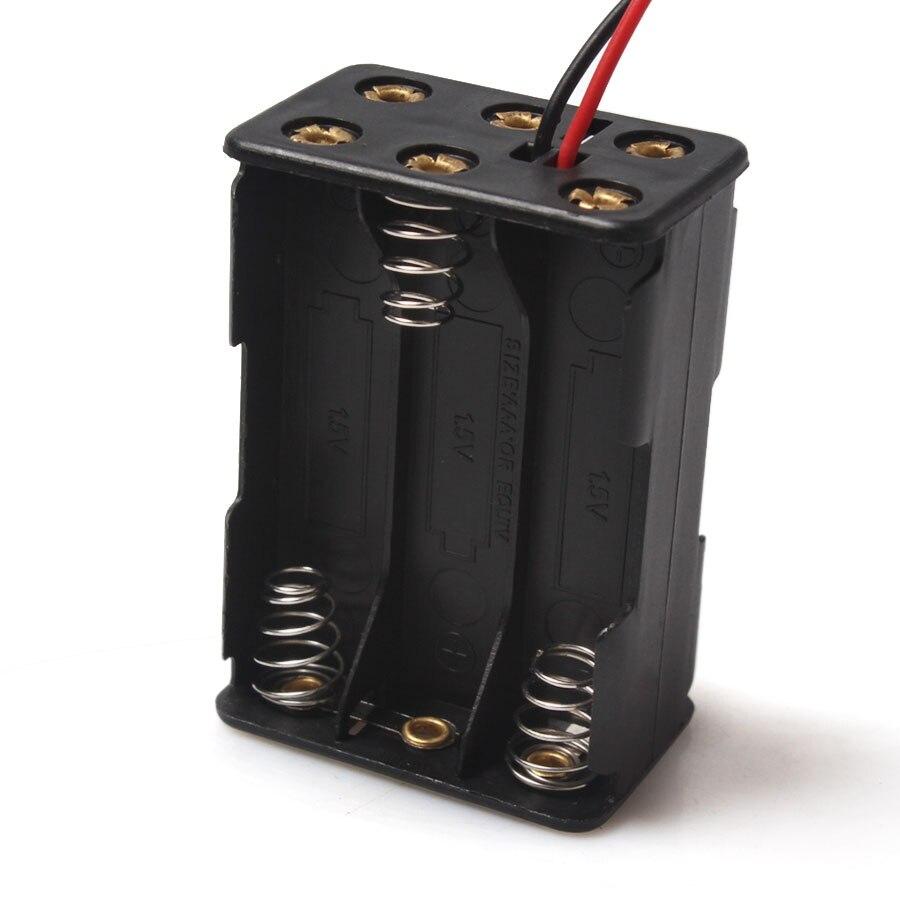 ▽1 PCS Alta Qualidade 6x1.5 V AAA Bateria de Plástico Titular Caso ... a54bbf44c05c8