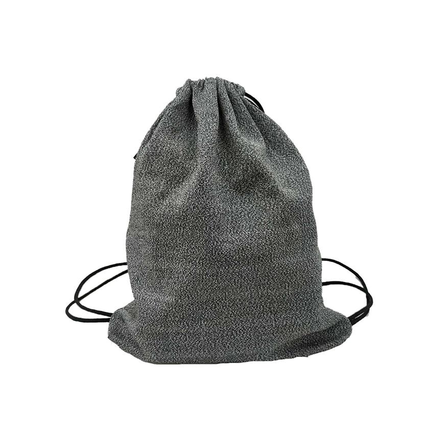 Cut Resistance Anti Theft Cut Lelel 5 2019 Cut Resistant Hppe For Camping Crack Travel Gym Handle Backpack Laptop Drawstring Bag