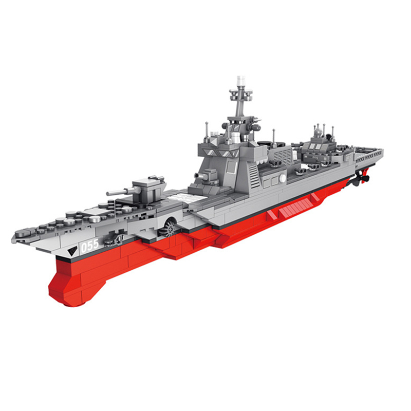 DIY Military Missile Destroyer Warship Building Blocks War Weapon Model Bricks Compatible with Legoingly Toys fror Kids GiftsDIY Military Missile Destroyer Warship Building Blocks War Weapon Model Bricks Compatible with Legoingly Toys fror Kids Gifts