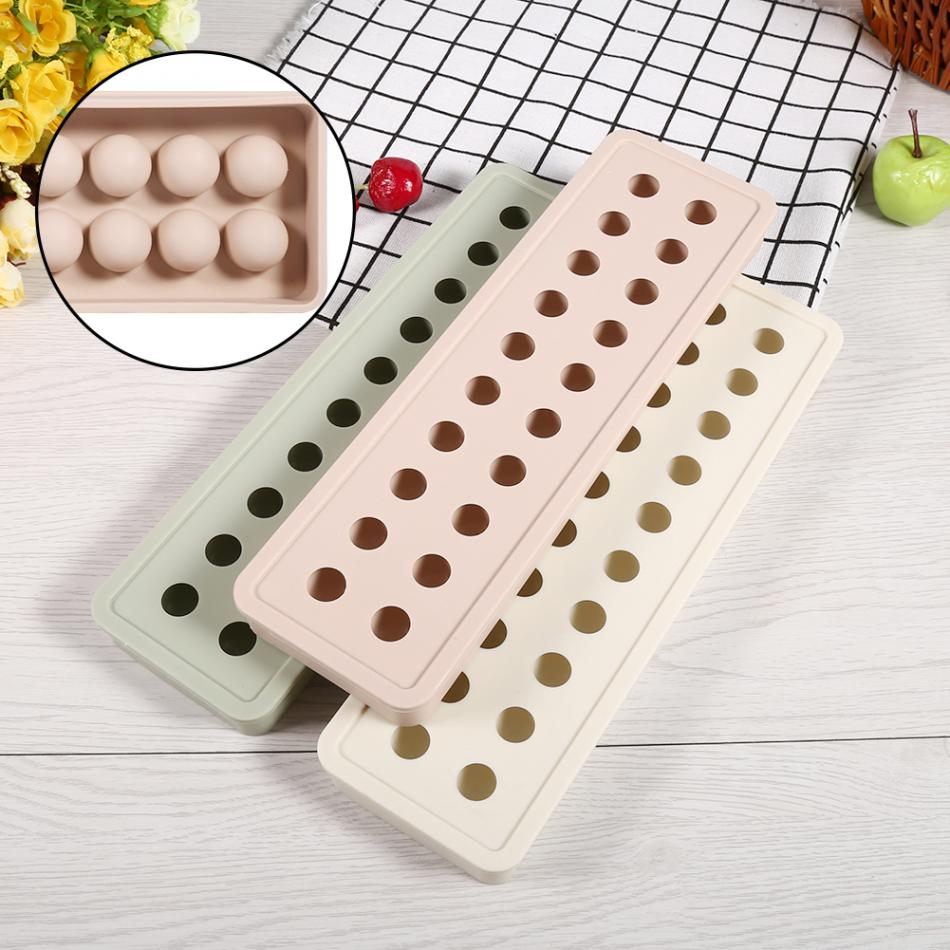 New Ice Ball Mould 20 Cavities Silicone Mini Ice Ball Cube Tray DIY Mould Pudding Candy Chocolate Bar Mold 1x silicone ice cube sphere tray mold mould round square maker bar home diy 043 076