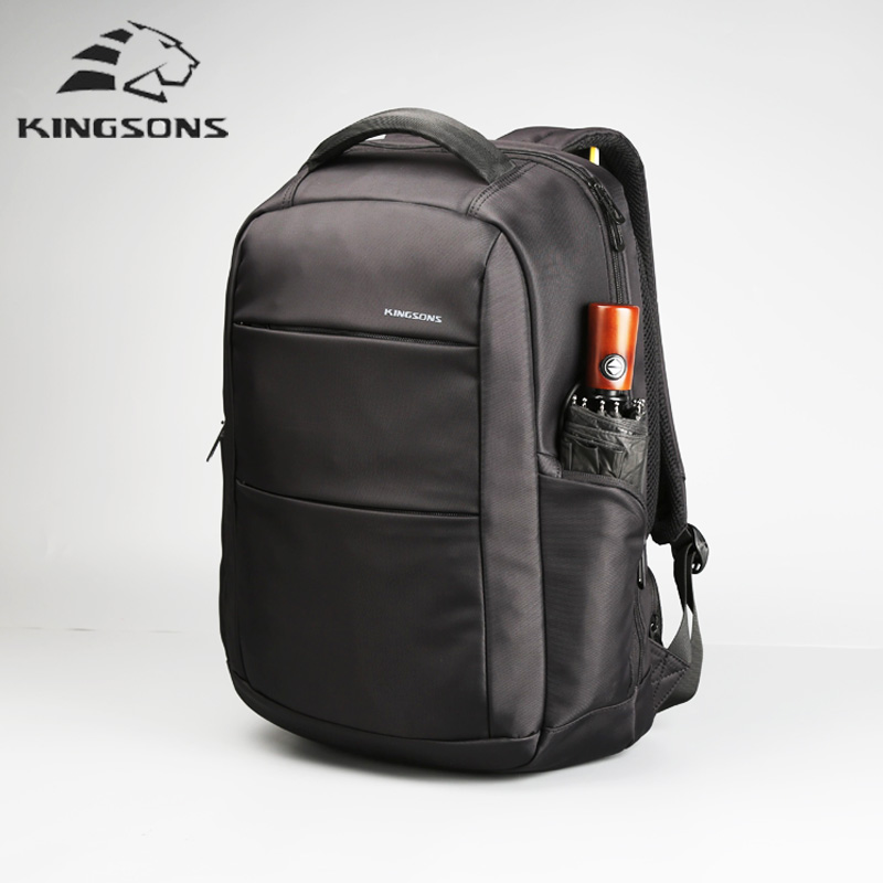 kingsons waterproof usb charge backpack anti theft backpack 15.6 Inch Men Women laptop Notebook Backpacks For Travel School Bags kingsons external charging usb function school backpack anti theft boy s girl s dayback women travel bag 15 6 inch 2017 new