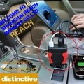75W DC12V AC110V Car Power Inverter Laptop Adapter Cellphone GPS LG USB Charger free shipping