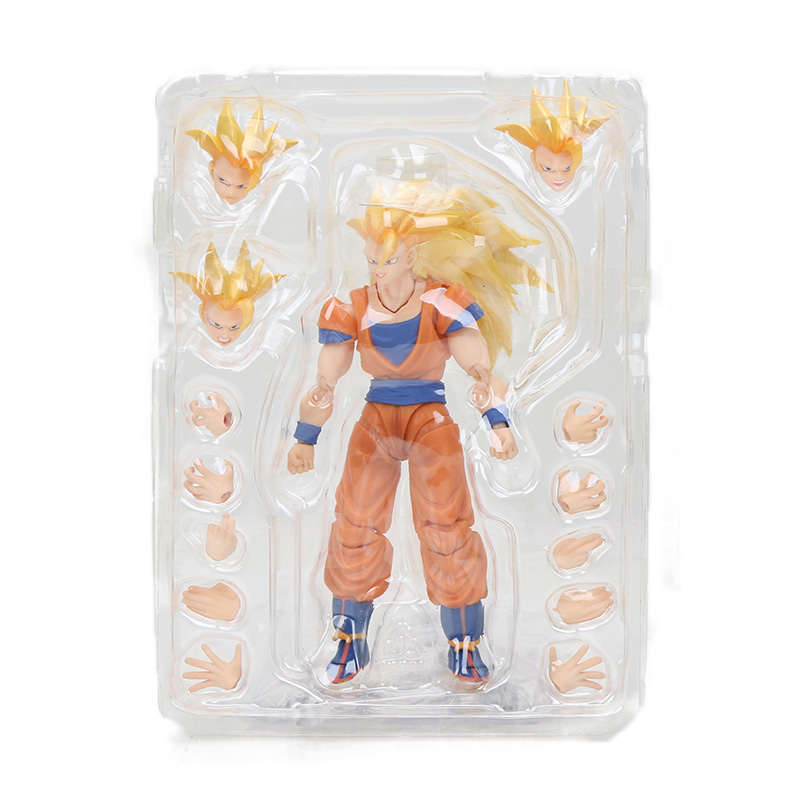 Dragon Ball Z Action Figure Gohan Goku Vegetto Vegeta Trunks Piccolo Freeza 18 with rotating joints 12