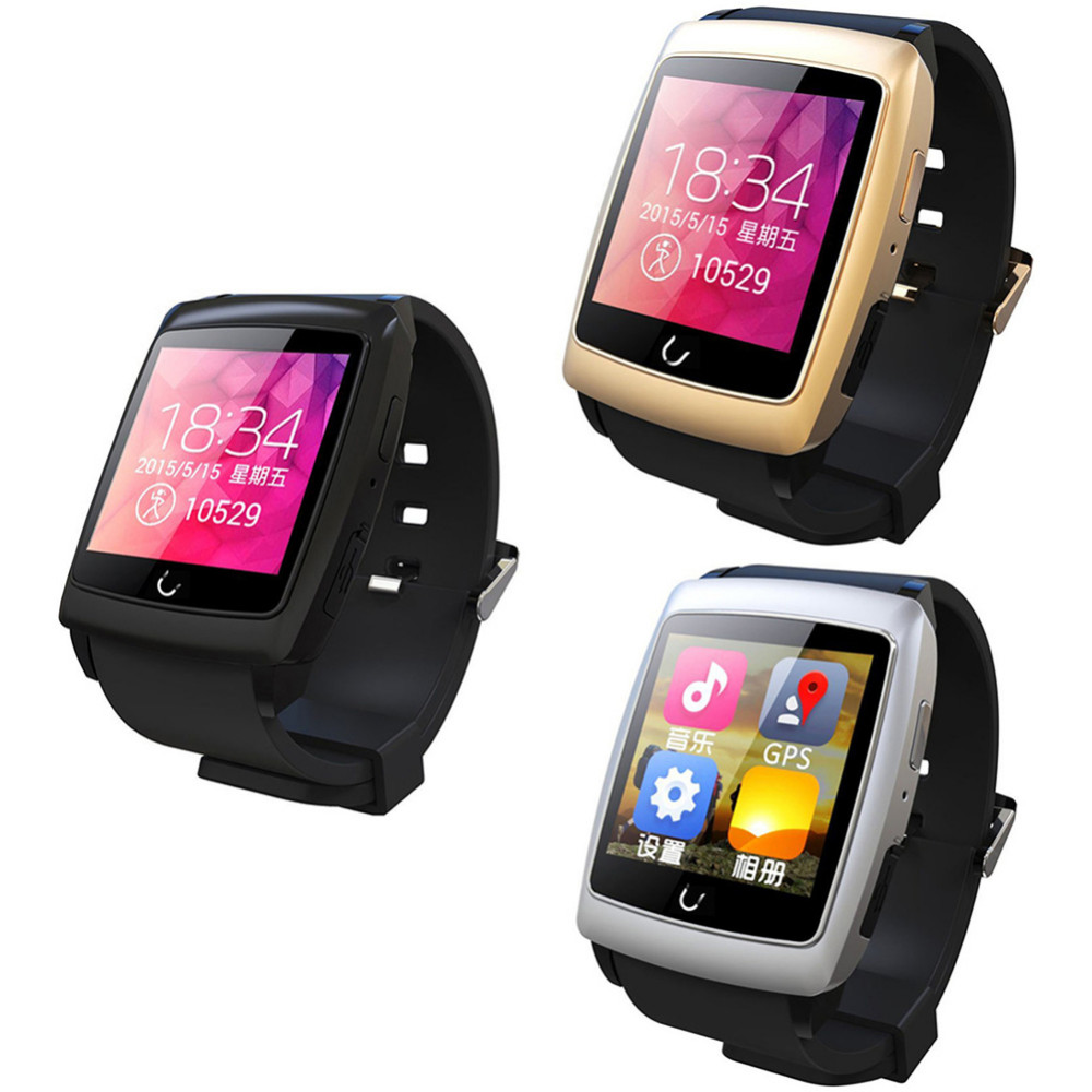 New Arrival Original Uwatch U18 Bluetooth Smart Watch Wristwatch for Android Phone With GPS Wearable font