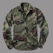 Горные камуфляжные рубашки, Мужская Военная рубашка, куртки с длинным рукавом, камуфляжная форма, мужские топы, мужская одежда