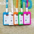 Name Credit Card Holders 2016 Wome Bank Card Neck Strap Card Bus ID holders Identity badge lanyard PP Bank Credit Card Holders