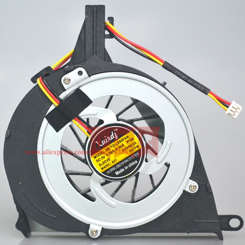 100% Brand New and Original CPU cooling fan for Toshiba Satellite L650 L650D L655 L655D L750 l755 Fan