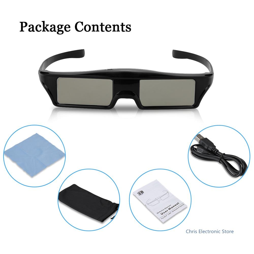 KX60 3D <font><b>Active</b></font> <font><b>Bluetooth</b></font> <font><b>Shutter</b></font> Virtual Reality <font><b>Glasses</b></font> <font><b>for</b></font> <font><b>Optama</b></font> Supports <font><b>Bluetooth</b></font> signal <font><b>for</b></font> LG / Sony / Panasonic / Sharp