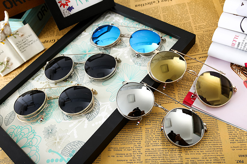 HTB1euKSQFXXXXX1XXXXq6xXFXXXK - FREE SHIPPING Steampunk Sunglasses Round JKP423