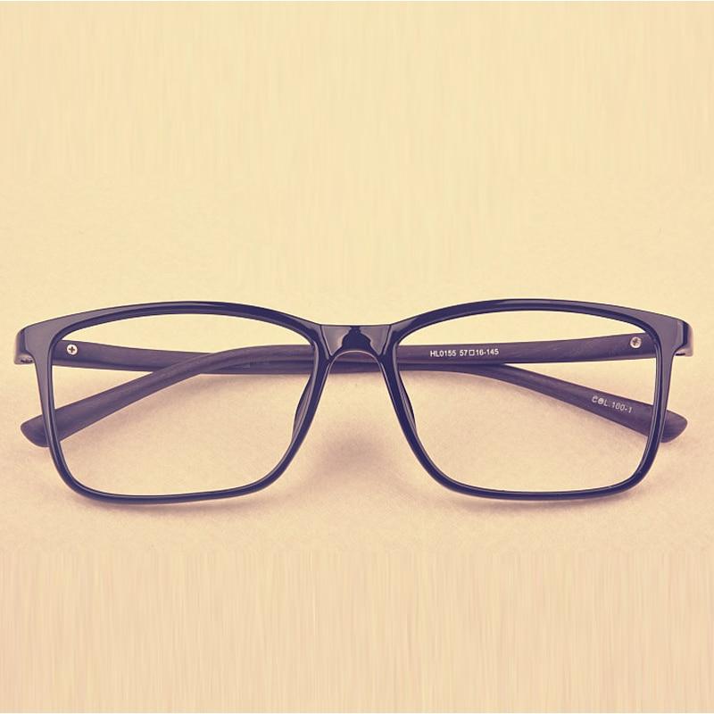 XINZE 2017 Yeni büyük TR90 erkekler gözlük çerçeve reçete - Elbise aksesuarları - Fotoğraf 2