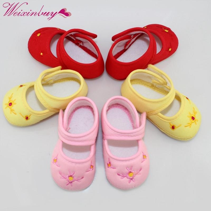 Promotion Bébé Chaussures Enfants Coton Premiers Marcheurs - Chaussures de bébé - Photo 2
