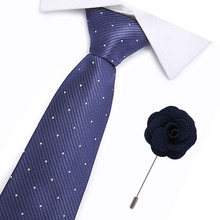 Blue Christmas Tie 7cm  Ties For Day Mens & Green Necktie Santa Claus Neck Gift for men shirt accessories