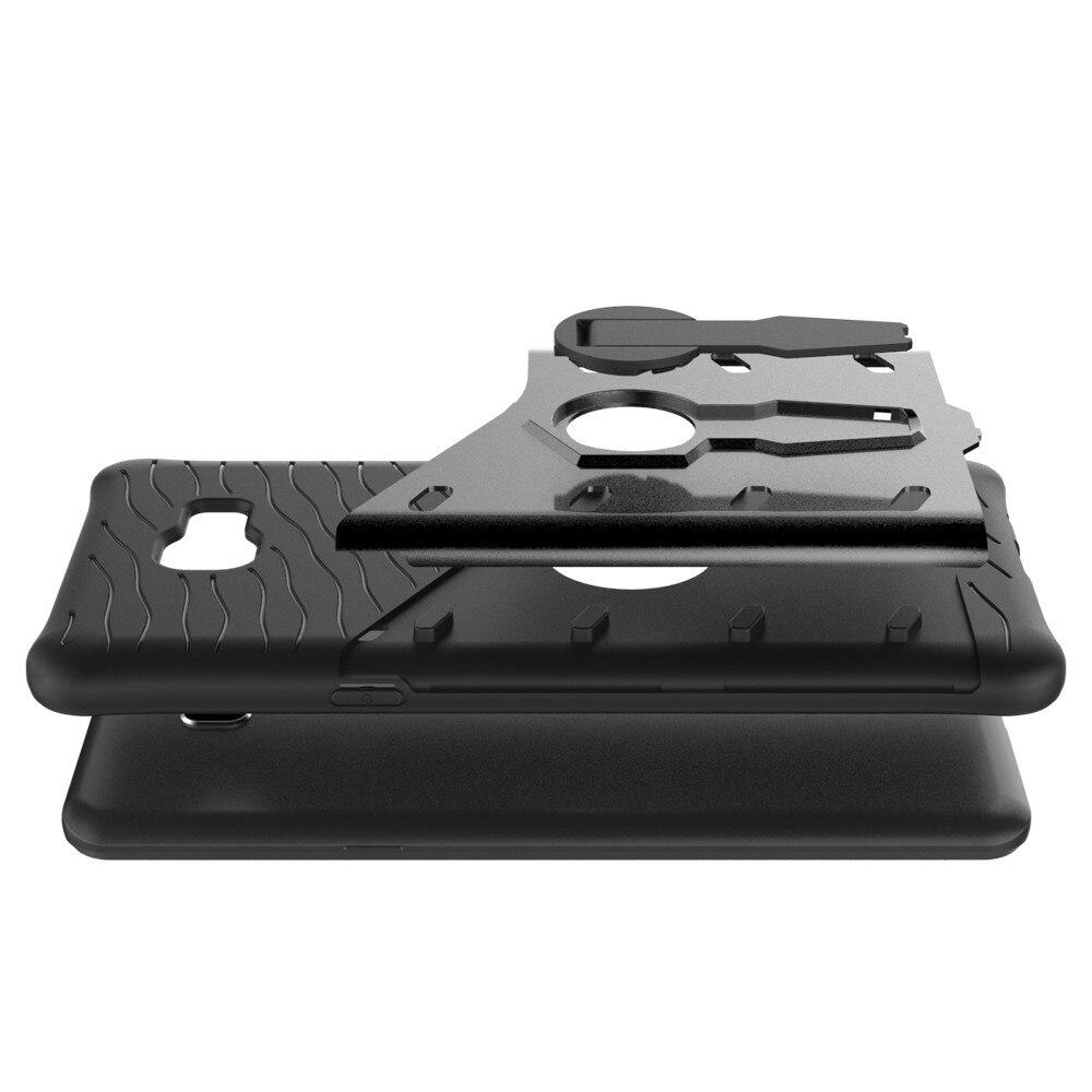 Atirador do Robô Híbrido Armadura À Prova de Choque de telefone celular móvel 360 Kickstand Voltar Soft Case Capa Para samsung galaxy c9 pro