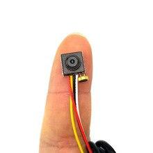 Áudio 800TVL mini câmera 8mm x 8mm tamanho pequeno câmera de vídeo micro mini cvbs analógico cctv câmera FPV câmera para quadcopter