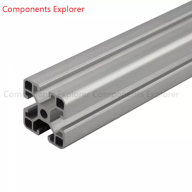Arbitrary Cutting 1000mm 4040B Aluminum Extrusion Profile,Silvery Color.