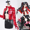 Anime Fate Stay Night Tohsaka Rin Engine Cosplay Costume Jacket Underwear Short Skirt Belt Gloves Sunglasses