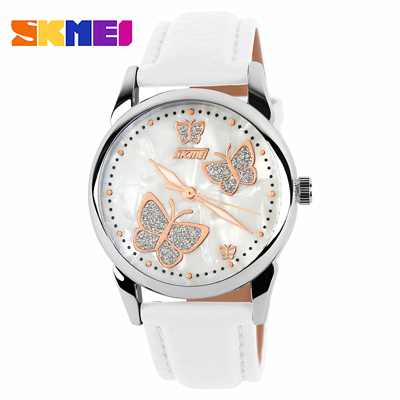 Watch Women SKMEI brand luxury Fashion Casual quartz watches leather sport Lady relojes mujer women wristwatches Girl Dress 9079 relojes mujer 2016 quartz watch women watches relogio feminino women s leather dress fashion brand skmei waterproof wristwatches