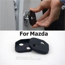 Для Mazda 3/Mazda 6/Mazda 5/CX-5/Atenza/Axela/MX-5/Mazda 8/CX-7 нержавеющий Модифицированный Двери Автомобиля Украшение Замок Крышки 4 Шт./лот