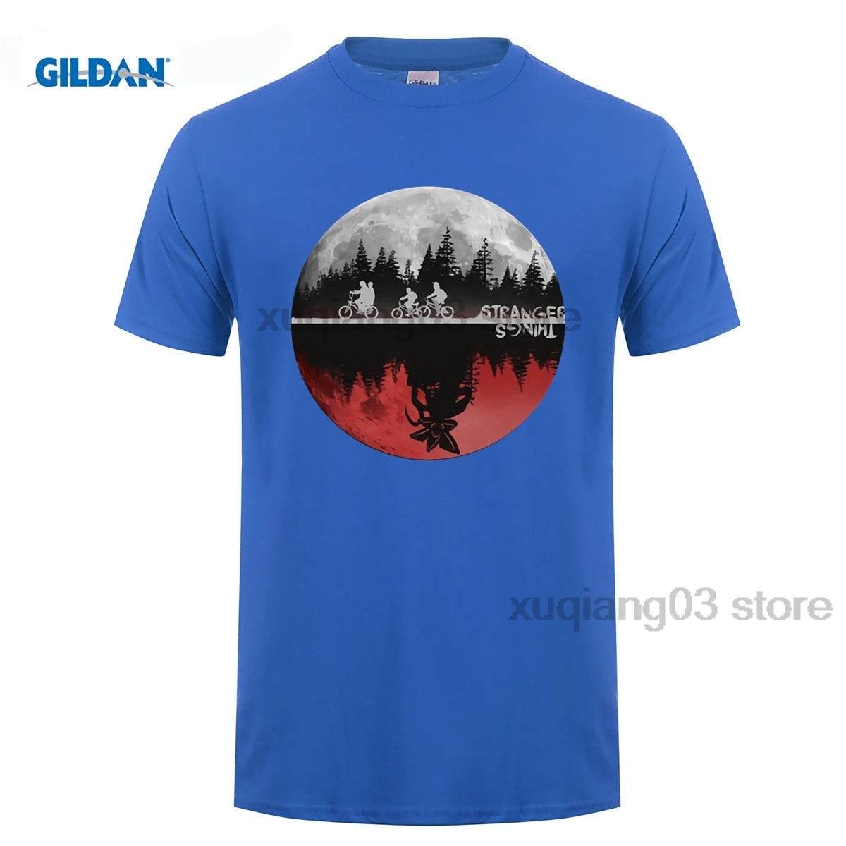 Мерк Kleding футболка Mannen незнакомец Dingen рубашка подарок принт Aangepaste Korte Топы Volwassen плюс Размеры
