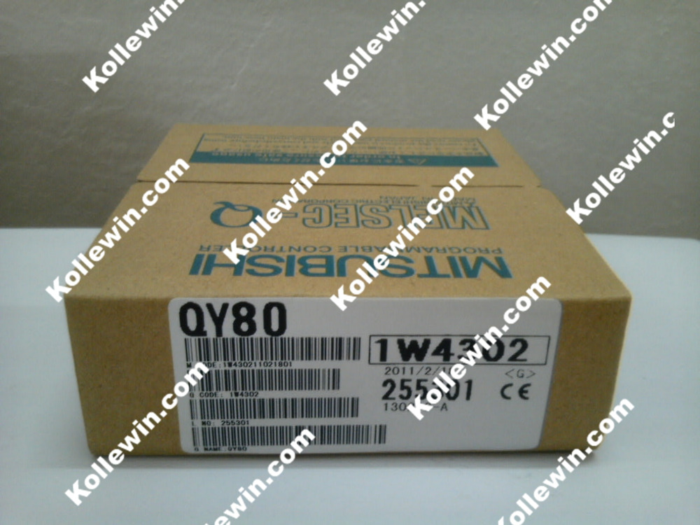 1pc QY80 PLC Module NEW, MELSEC QY80 OUTPUT MODULE16 POINTSOURCE TR. OUT Free Shipping 1764 mm2 plc memory module micrologix 1500