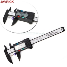 0 100mm digital caliper plastic electronic display screen vernier Measurement Instruments Jewelry Measuring Tools H058
