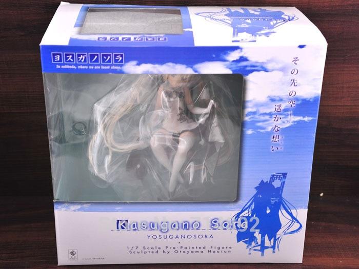 Yosuga no Sora action figure Kasugano Sora 1/7 scale PVC figure 8 Japan anime sex girl doll free shipping