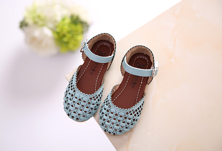 girl sandals girls shoes party toddler princess children wedding shoe kids leather summe ...
