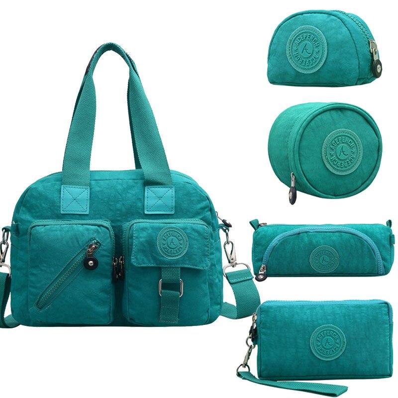 5pcs set Casual 100 Original Bolsa Women Top handle Bag Designer Luxury Handbags Women Bags With