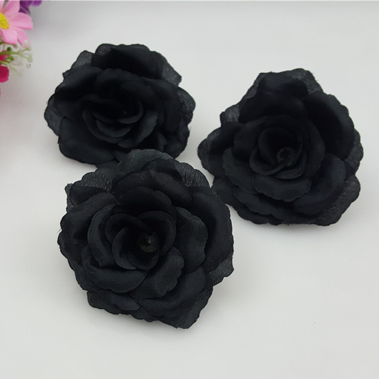 Buy silk black flowers and get free shipping on aliexpress mightylinksfo