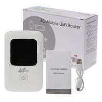 1Set 4G Wifi Router Global Version 3G 4G Lte Portable Wireless Hotspot Sim Slot with Display MF801s High Quality