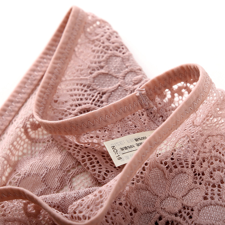 3pcs/lot, Sexy Lace Panties, Women's Fashion Cozy Lingerie, Tempting Pretty Briefs, Cotton Low Waist, Cute Women Underwear 27