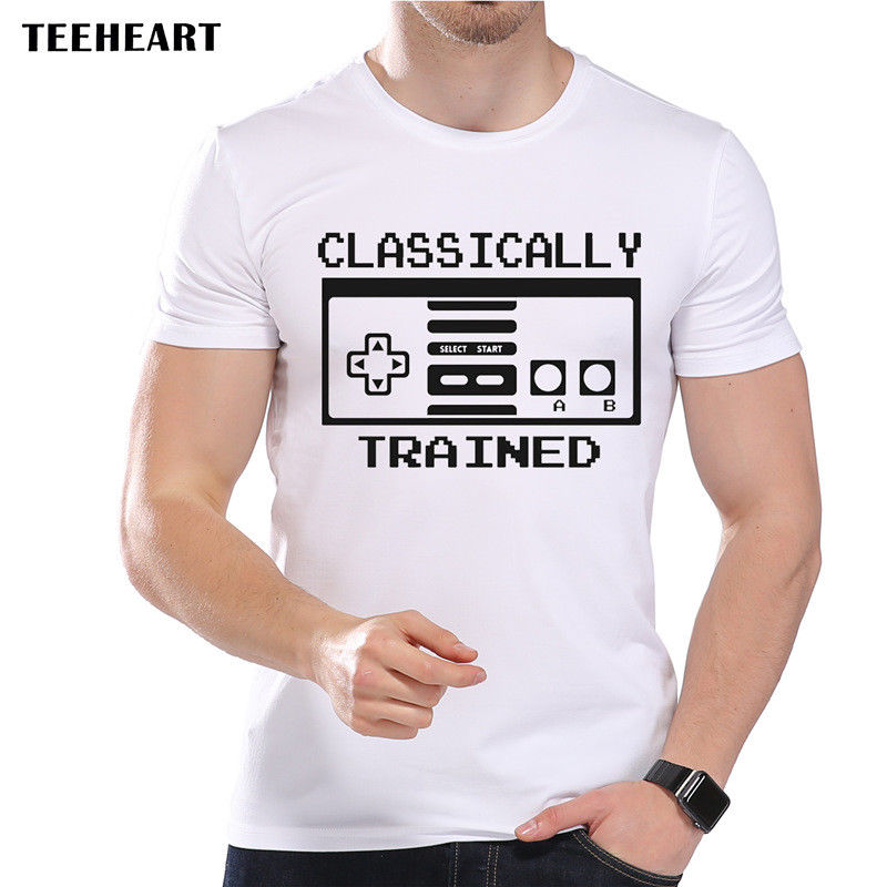 Retro Gaming Old Games Console Classic Funny Joke Men T Shirt Tee