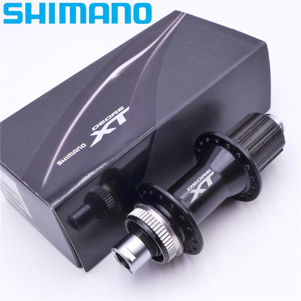 SHIMANO HB M8000 FH M8010 moyeux de VTT 32 trous avant moyeu de roue arrière QR 135*10mm E à travers 100 15mm 142 12mm Boost 110mm 148mm - 6