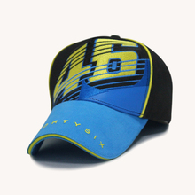 Luckly 46 3D embroidery fashion team car racing baseball cap outside sport shade summer hat 1pcs brand new arrive