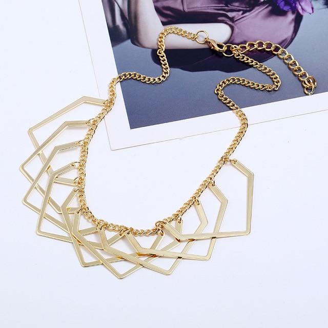Купить женское массивное ожерелье lzhlq в богемном стиле колье чокер