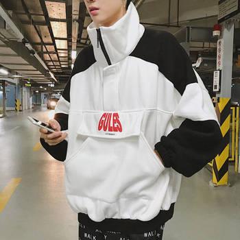 2019 Casual Cool Spring Autumn Hoodie Hip Hop Windbreaker Women Men Letter Print Hoodies Sweatshirts Oversize Casual Streetwear  hoodie