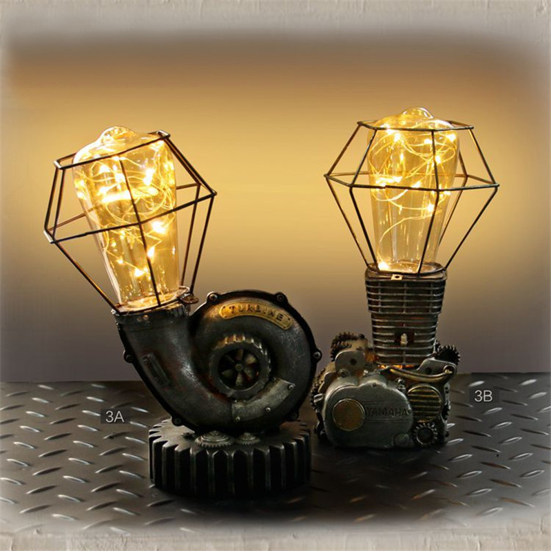 Home Decoration Star Lights Resin New Magic Attractive Engine LED Star Lights Night Light Kids Bedroom Desktop Crafts Lamp